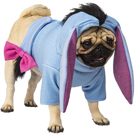 03e30a54f79b Amazon.com   Rubie s Eeyore Pet Costume (Medium)   Pet Supplies