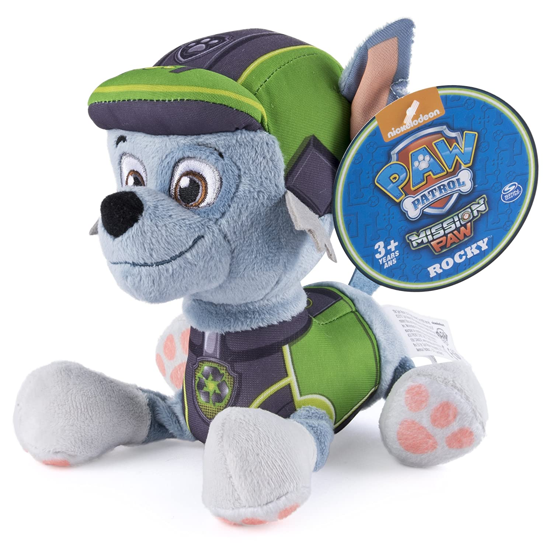 Rocky Paw Patrol Plush Pup Pals