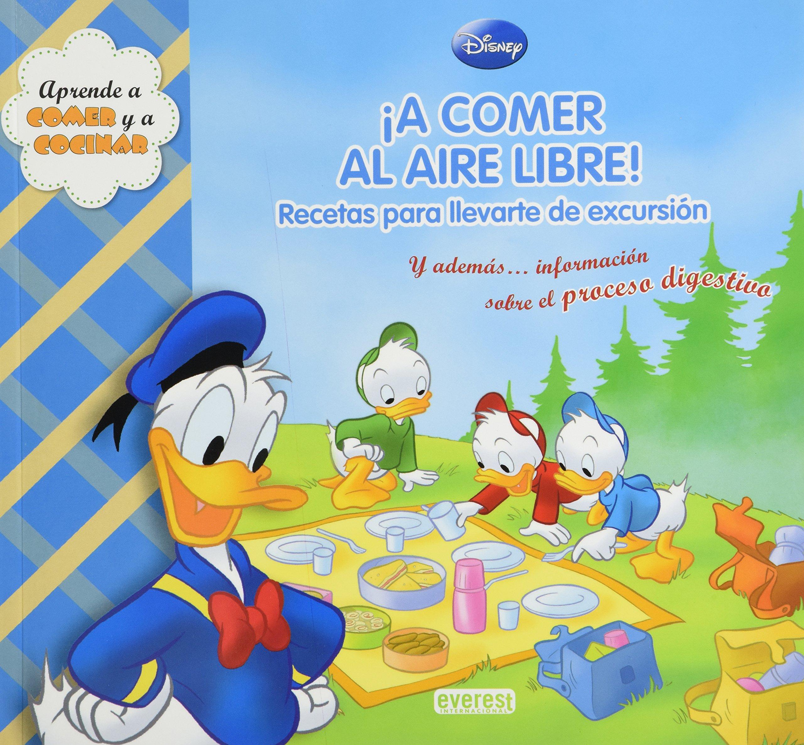 A COMER AL AIRE LIBRE! -APRENDE A COMER (Spanish) Paperback – 2011
