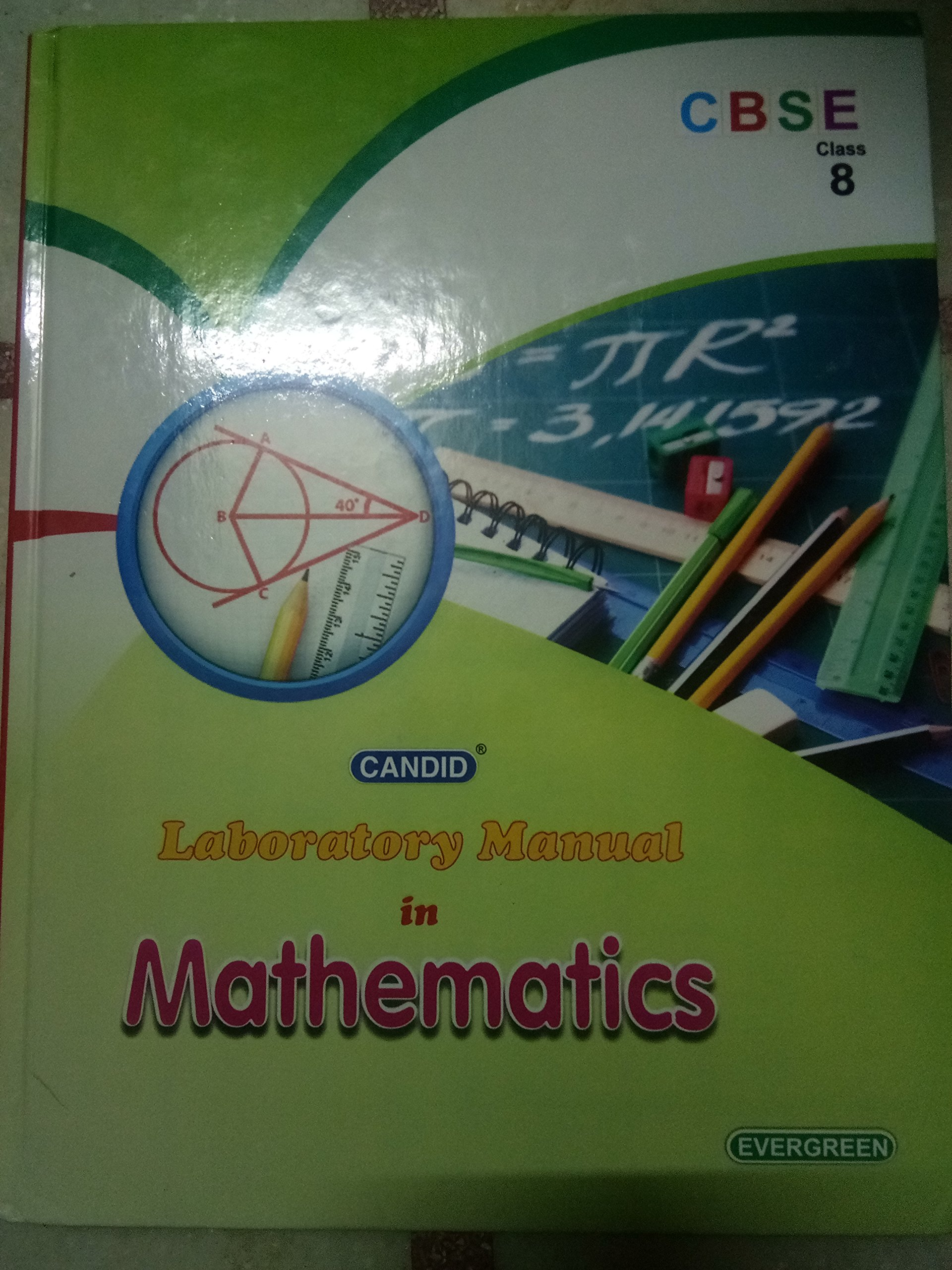 Amazon.in: Buy Candid Laboratory Manual in Mathematics - 8 Book Online at  Low Prices in India | Candid Laboratory Manual in Mathematics - 8 Reviews &  ...
