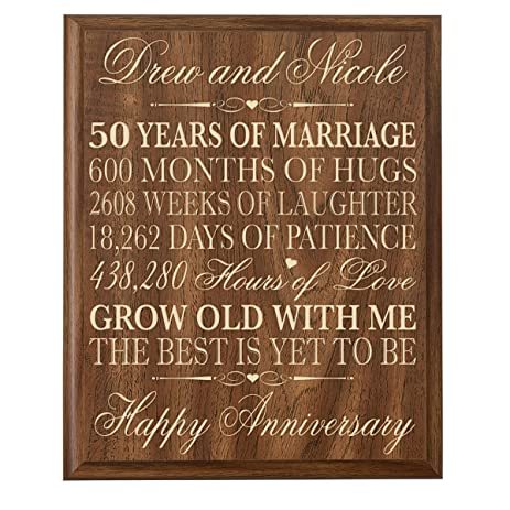 Personalized 50th Wedding Anniversary Gifts For CoupleCustom Made Her