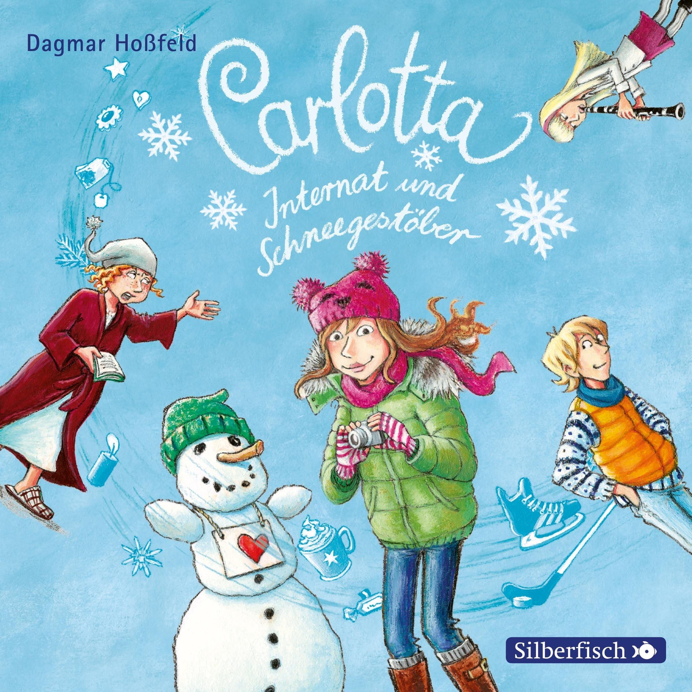Carlotta, Internat und Schneegestöber: 2 CDs