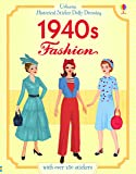 Historical Sticker Dolly Dressing 1940s Fashion