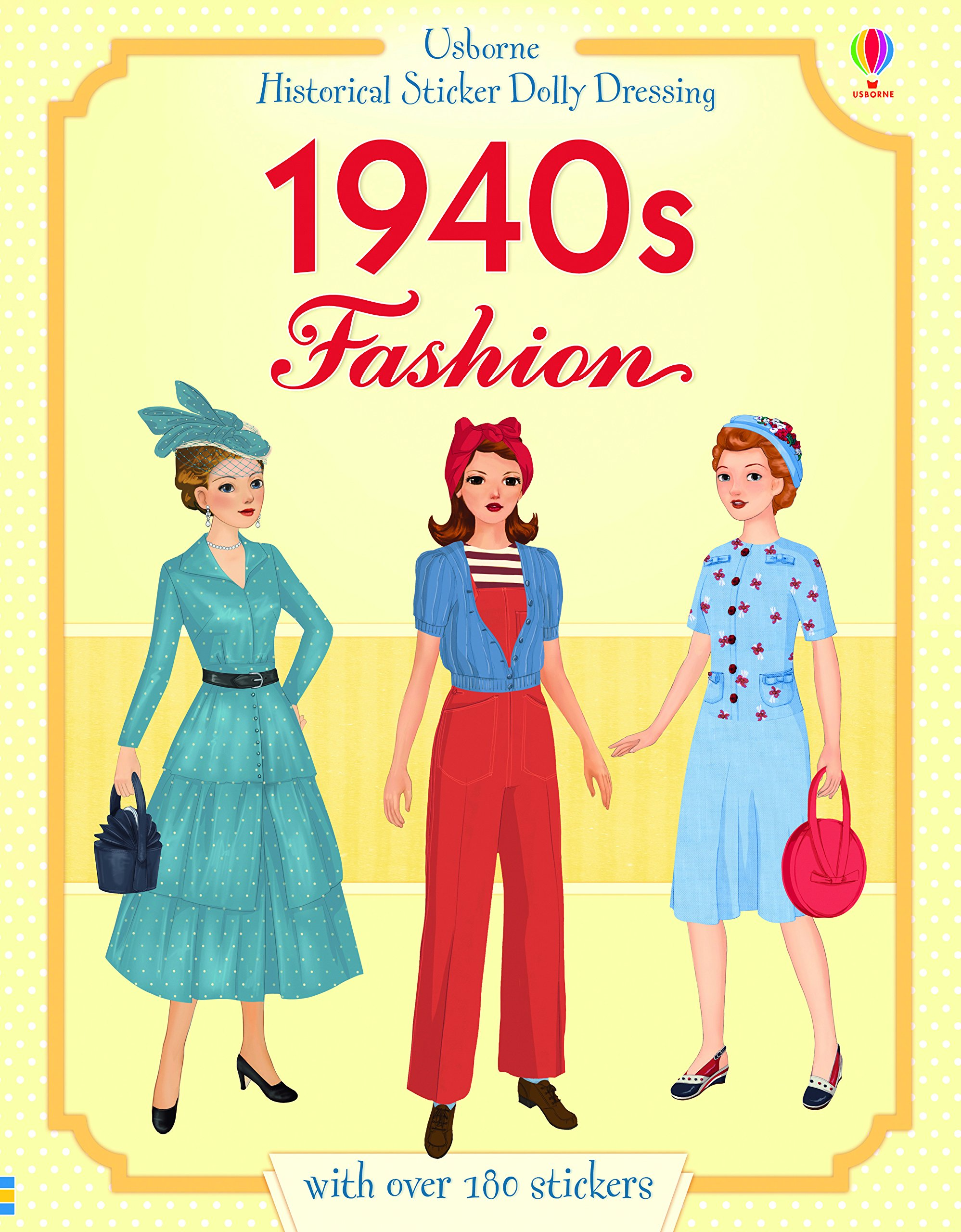 Download Historical Sticker Dolly Dressing 1940s Fashion pdf