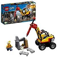 LEGO 乐高 拼插类玩具 City 城市系列 强力巨石劈裂机 60185 5-12岁 积木玩具