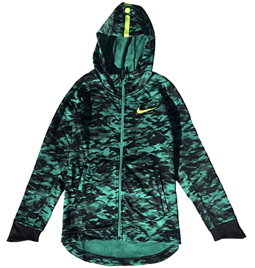 d24195d3a62cb Amazon.com: Nike Boy's Therma Elite Basketball Hoodie: Clothing