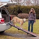 Wolters Travel Lite Pet Gear -Hunderampe Hundetreppe Hunde Rampe Treppe Stufen Einstiegshilfe Auto- bis 90kg schoko/schwarz