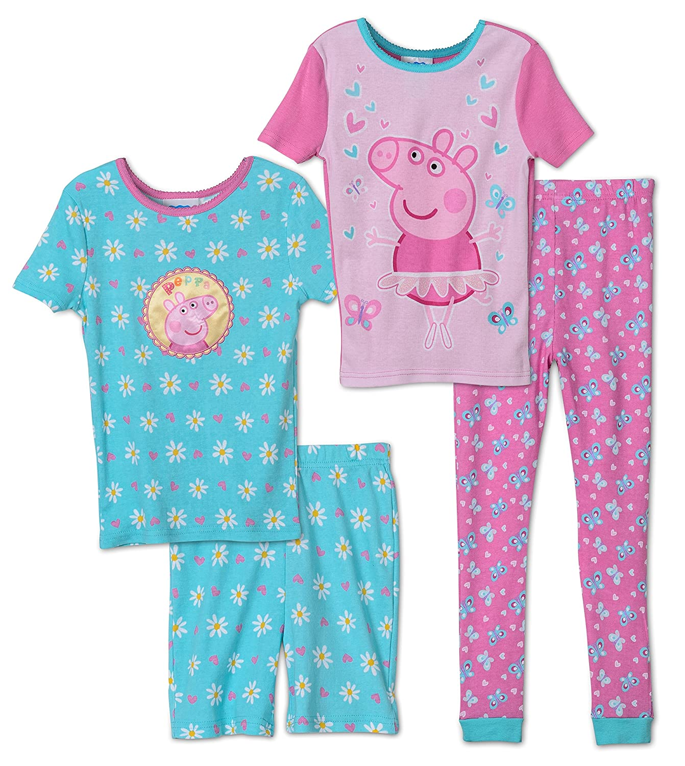 Peppa Pig Girls' 4 Piece Cotton Set K182277PP