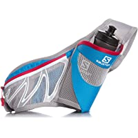 Salomon Sensibelt Bottle Holder Belt (Blue/Mathyl Blue/Lotus Pink)