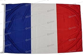 Bandiera Francia 150x100cm In Tessuto Nautico Antivento Da 115gm²