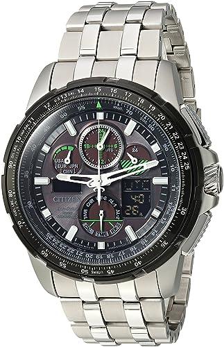 CITIZEN ECO-DRIVE SKYHAWK RELOJ DE HOMBRE ECO-DRIVE 47MM JY8051-59E: Amazon.es: Relojes