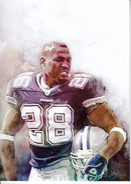 f1567620 Darren Woodson #1 -VERY RARE - Dallas Cowboys -3X SUPER BOWL CHAMPION -