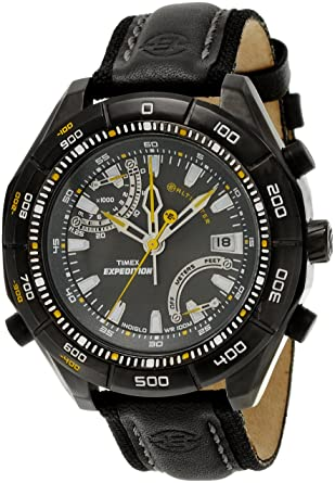 daf383047 Buy Timex Expedition Analog Black Dial Men's Watch - T497L5 Online at Low  Prices in India - Amazon.in