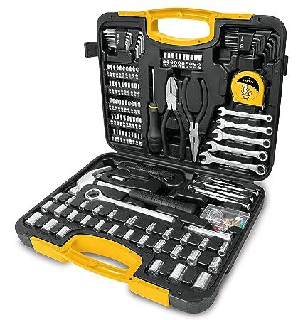 Amazon.com: Truper 24223 / SET-133-133-pcs Mechanics Tool ...
