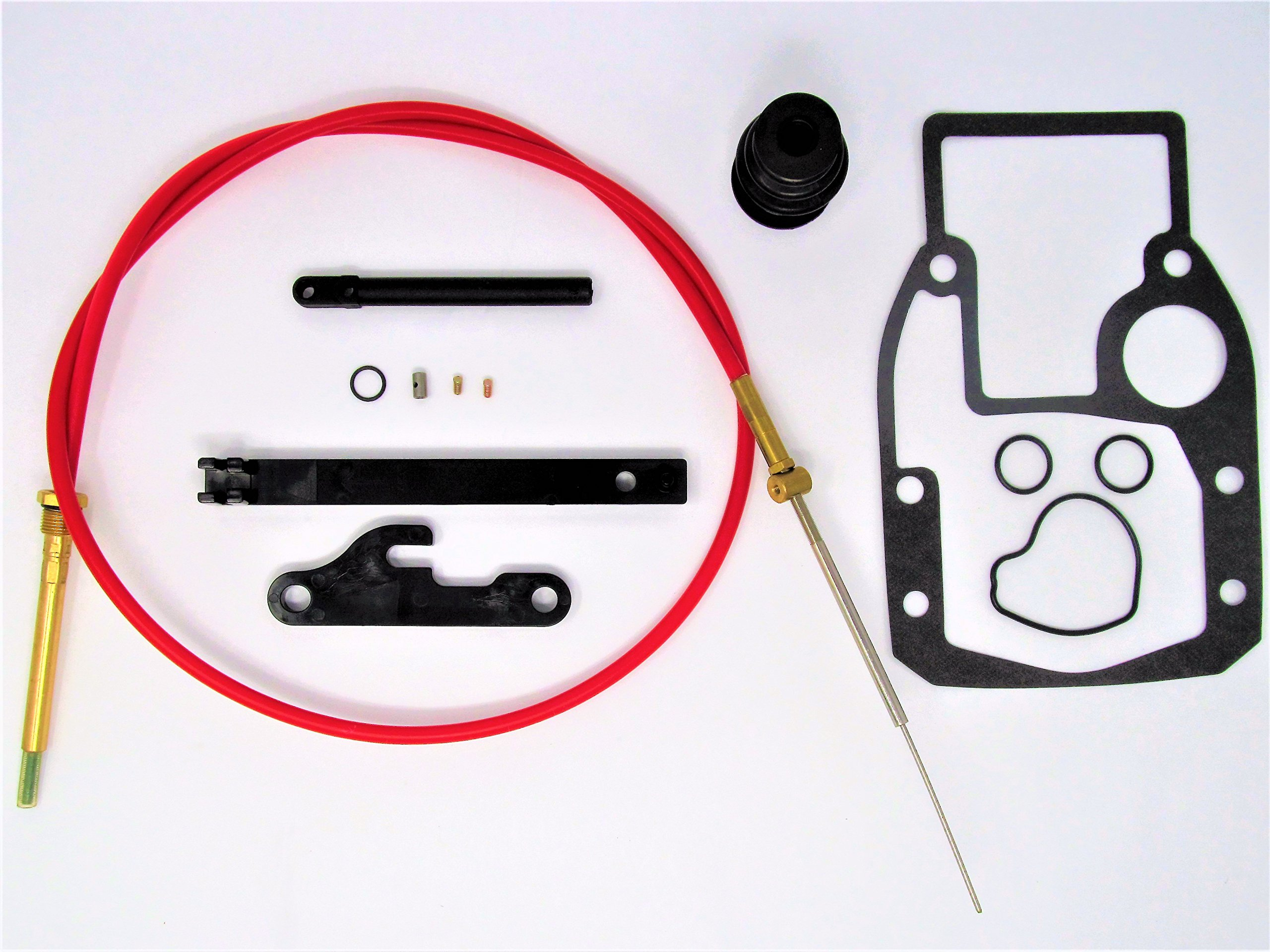 Marine Parts House Complete OMC Cobra Shift Cable Repair Kit w/Tool 21455 39630 987661 508105 21715