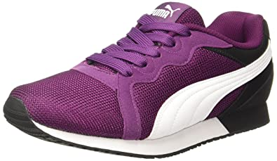 Puma Women s Pacer WN s Dark Purple-Black Sneakers - 8 UK India (42 ... a71eefc318