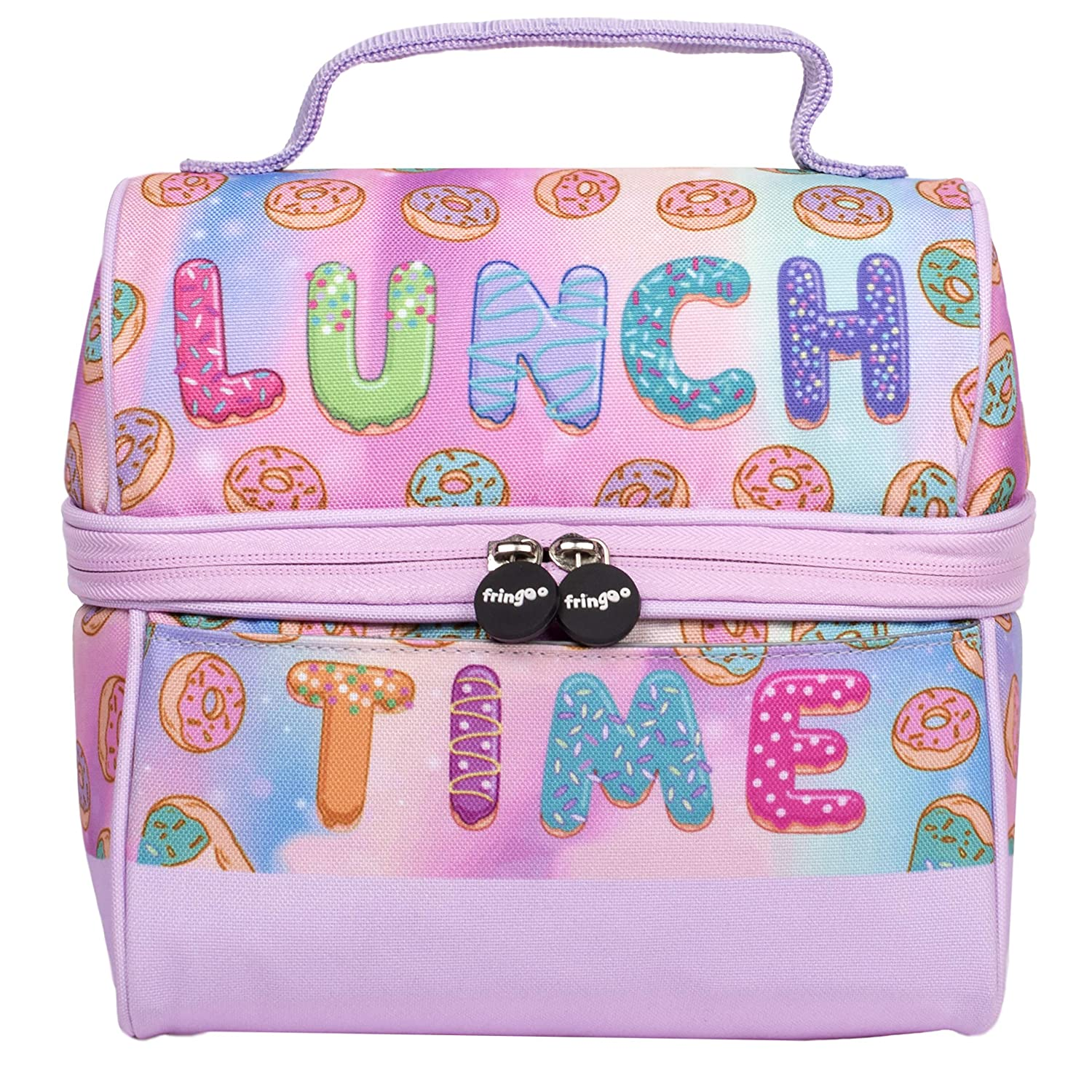 Unicorn Sandwich Box Personalised With ANY NAME lunch Box Clip New