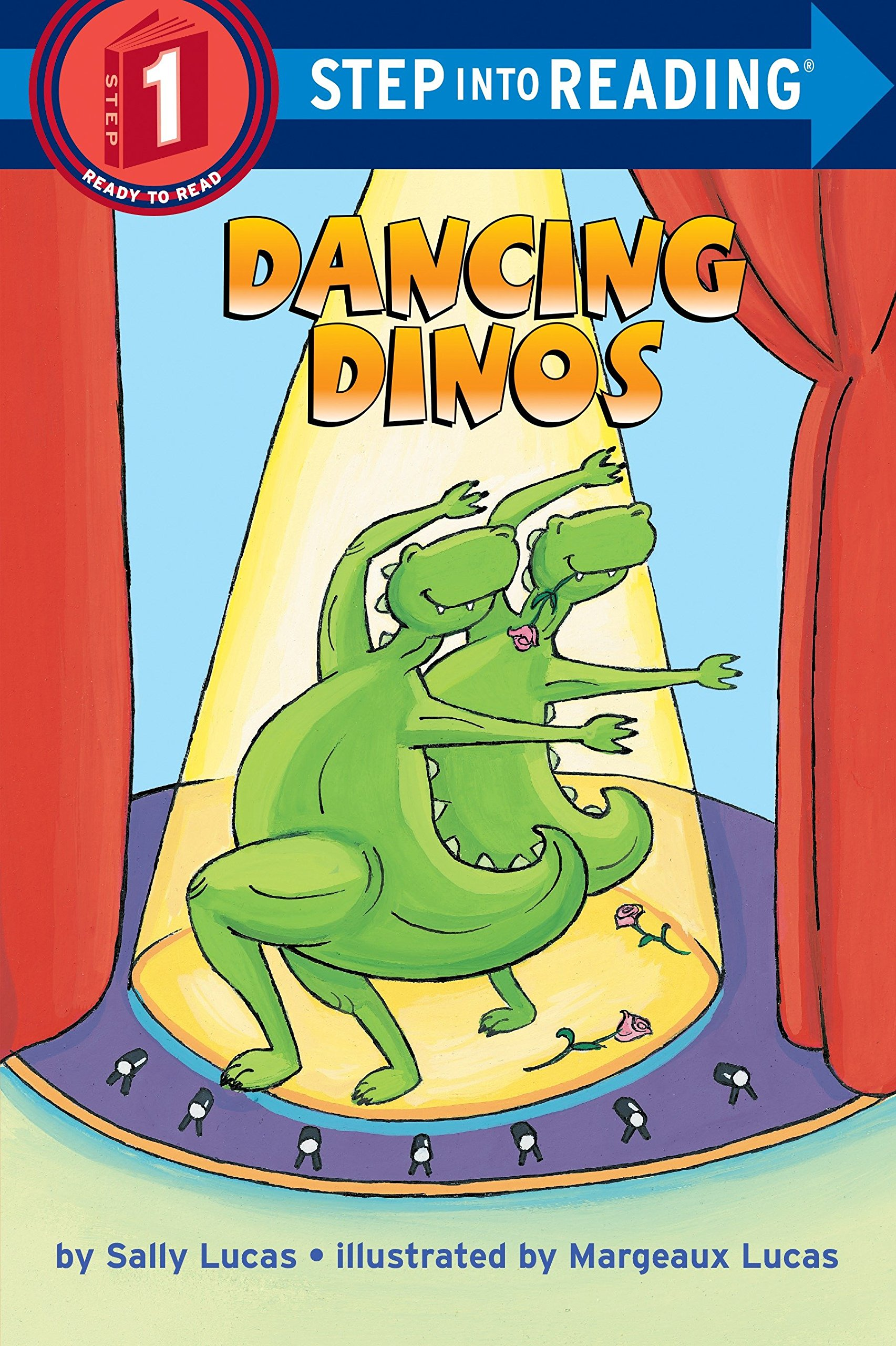 Dancing Dinos (Step-Into-Reading, Step 1) PDF