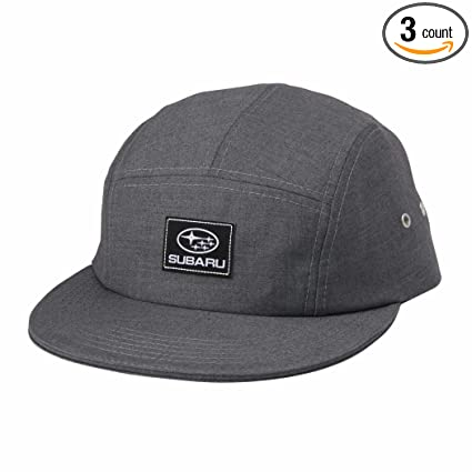 Amazon.com  Genuine Subaru Five Panel Cap Grey Hat Impreza STI WRX Outback  Forester Racing !  Sports   Outdoors d8bad9819de