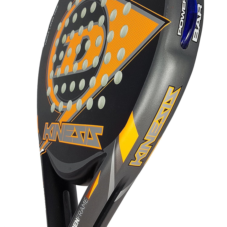 Dunlop Kinesis Pala de Padel, Unisex Adulto, Negro-Naranja: Amazon.es: Deportes y aire libre