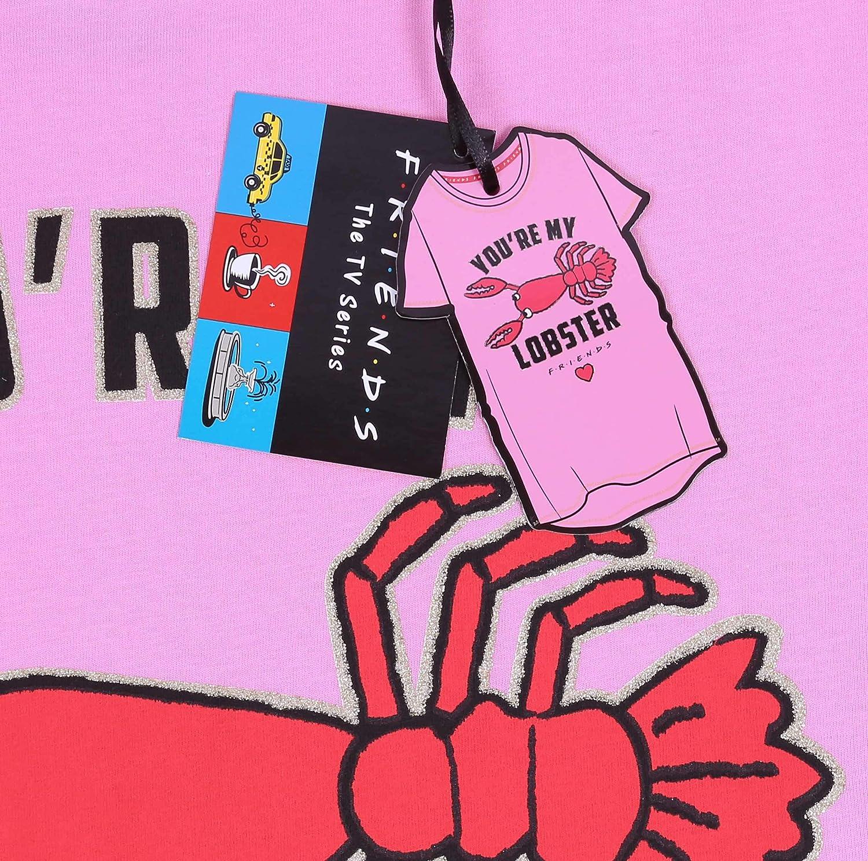 Chemise de Nuit Rose Friends