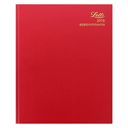 Letts 2019 - Agenda estándar de cuarto, vista semanal, citas ...