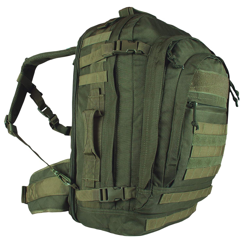 オリーブドラブジャンボモジュラーフィールドパック - 24×13×12インチ、バックパックバッグ   B0051OT4NE