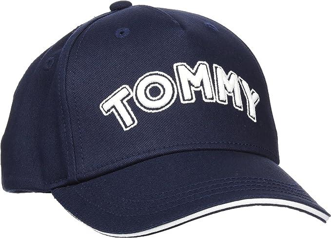 Tommy Hilfiger Cap Gorra, Azul (Tommy Navy 413), Large (Talla del ...