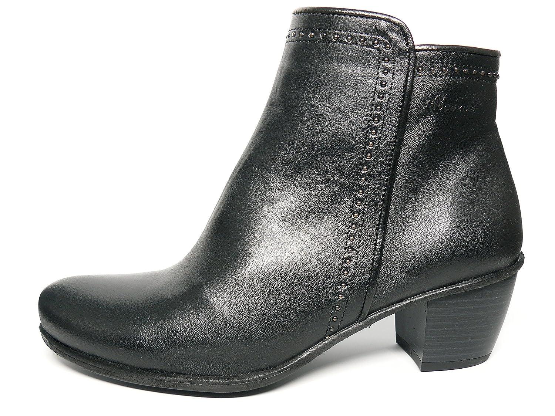 Botín piel muy cómodo Dorking-Fluchos - color negro - 6077 - 6440 EU|negro