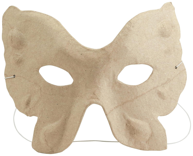 décopatch Mache Kids Cat Mask, 4.5 x 13 x 11cm, Brown AC457O