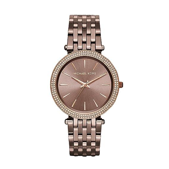 Michael Kors Reloj Analógico para Mujer de Cuarzo con Correa en Acero Inoxidable MK3416