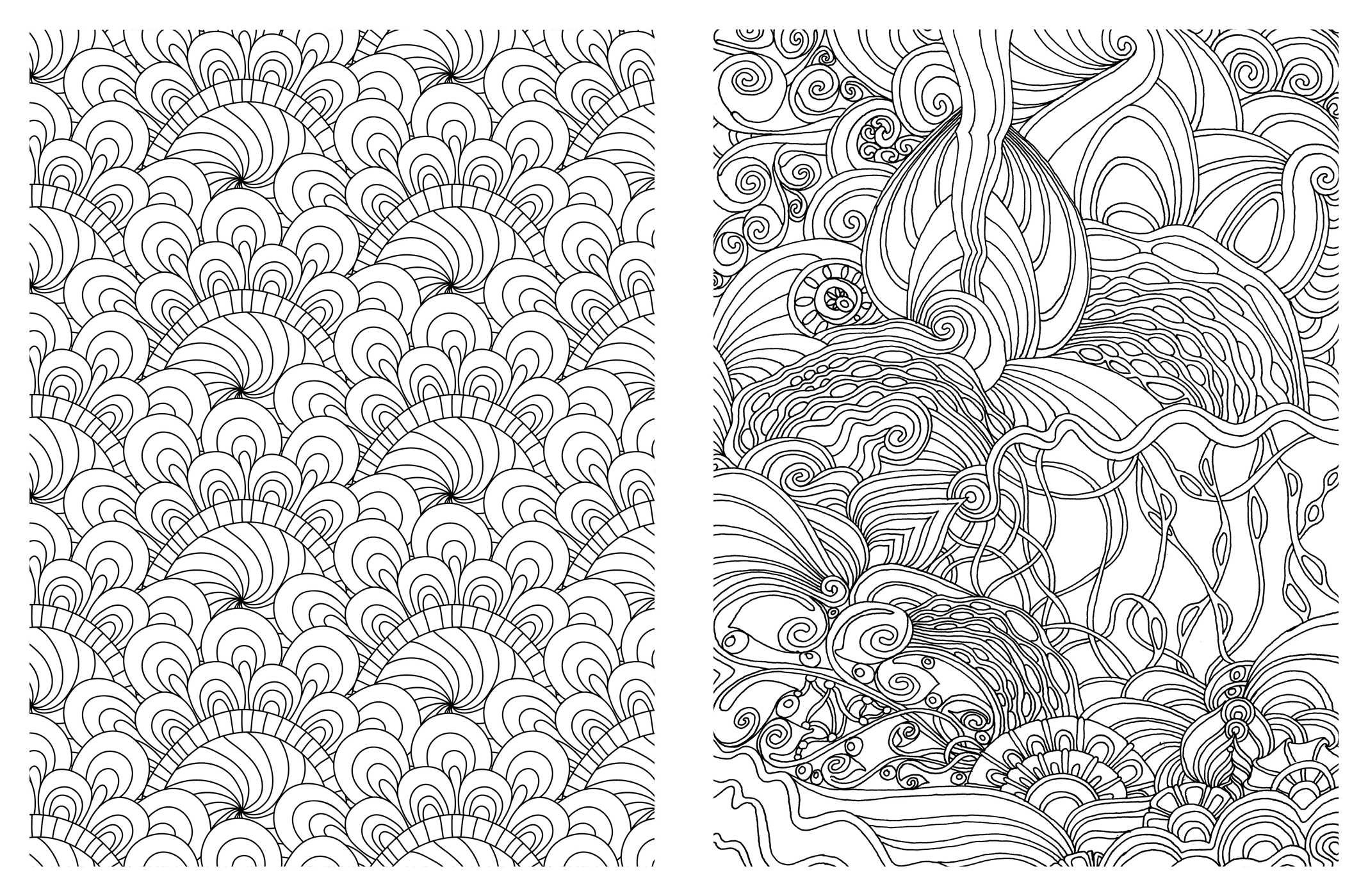 amazoncom posh adult coloring book soothing designs for fun relaxation posh coloring books 0050837348899 andrews mcmeel publishing books - Color Books For Adults