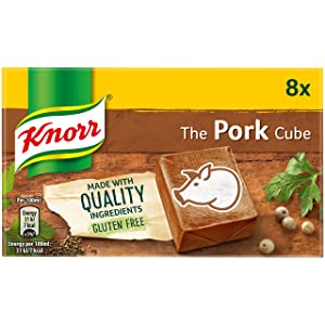Knorr Pork Stock Cubes 8 Pack 50g