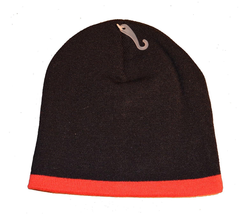 b74aab5e3 Reebok NFL Cuffless Team Logo Beanie Hat - Football Knit Skull Cap