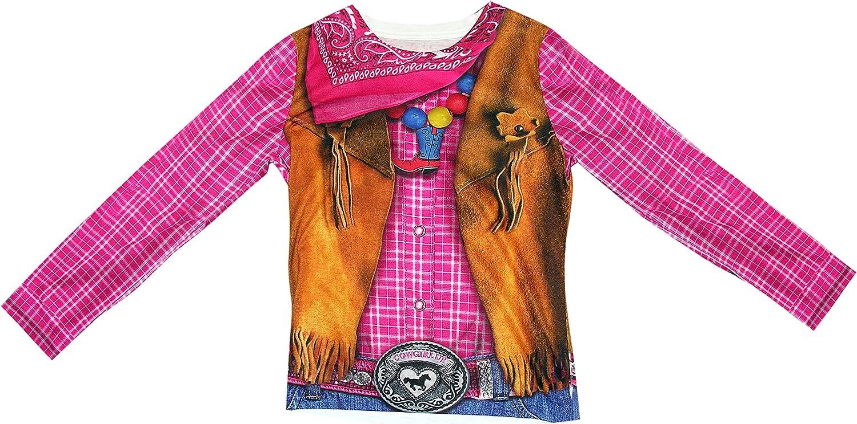 Forum Cowgirl - Camiseta infantil, Multicolor, Medium: Amazon.es: Ropa y accesorios