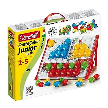 Steckspiele Fantacolor Junior Quercetti 4190 Holzspielzeug