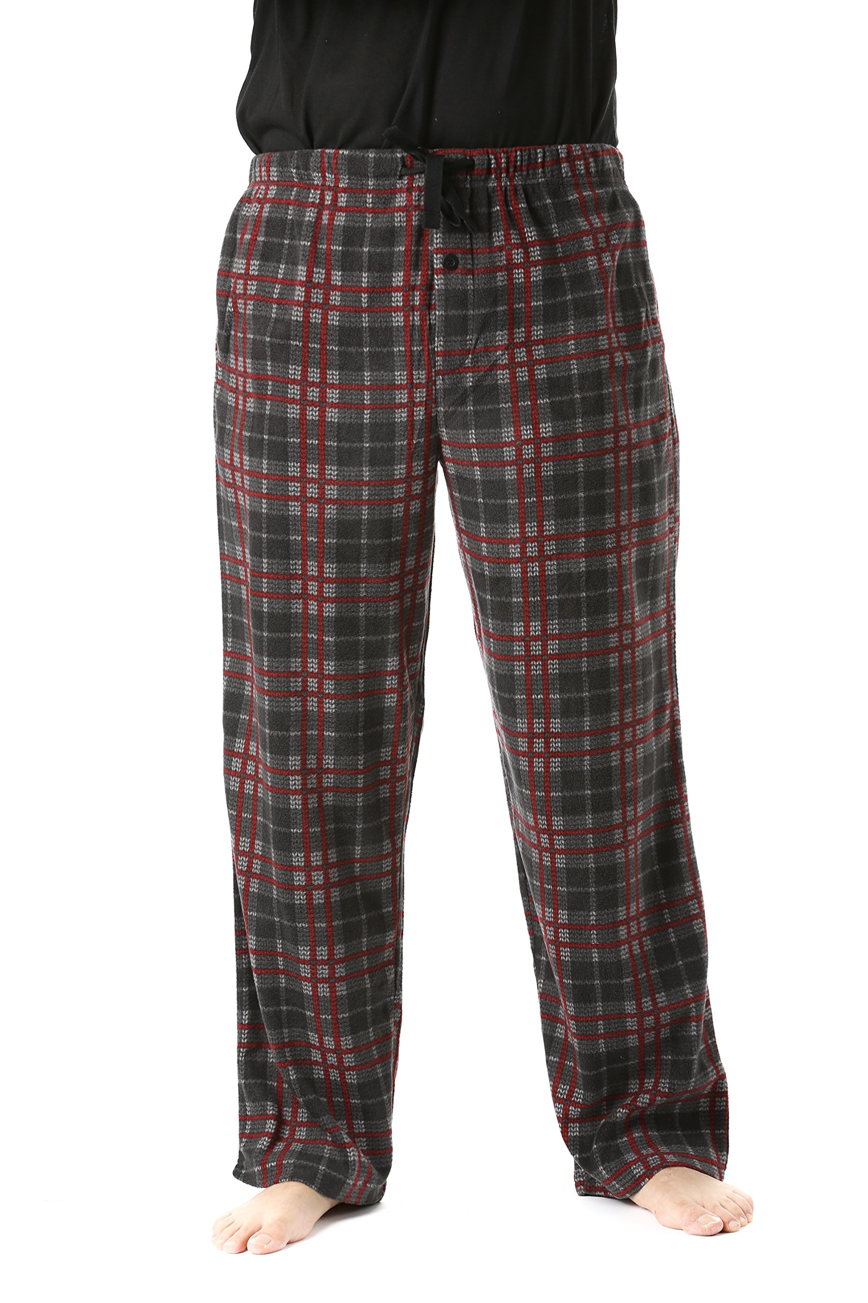 #followme 45902-13-L Polar Fleece Pajama Pants For Men Sleepwear PJS