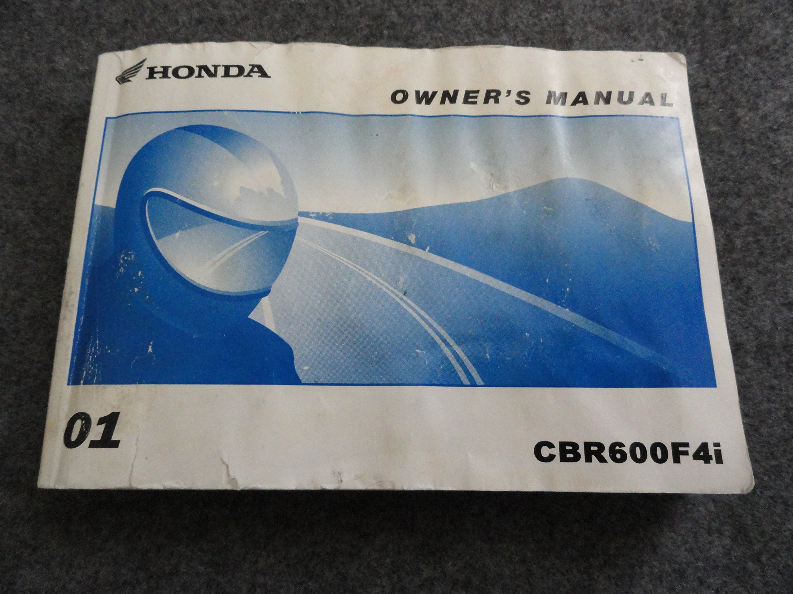 2006 honda cbr600f4i motorcycle owners manual: 31mbw670 | ebay.