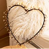 MAISON HUIS Heart String Lights, 350 LED Heart Hanging Fairy Lights for Outdoor Indoor Bedroom Wall Decor for Wedding…