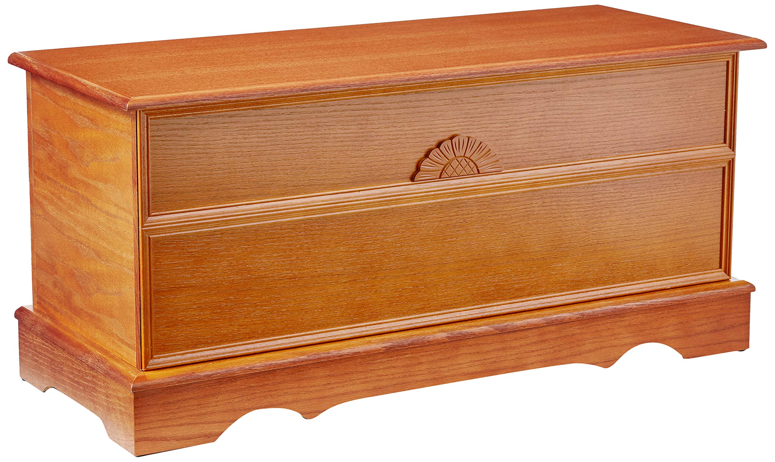 Coaster Home Furnishings Cedar Chest in Honey by Coaster Home Furnishings
