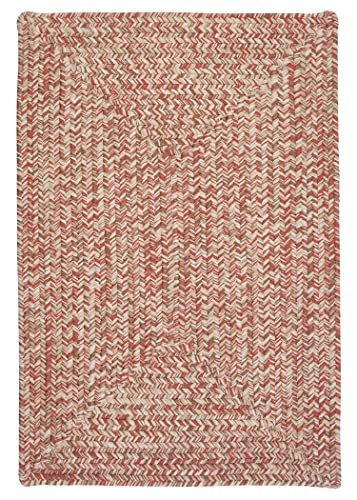 Corsica Rectangle Area Rug, 4 by 6-Feet, Porcelain Rose
