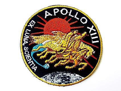 Amazon com: Tyga_Thai Brand NASA Apollo 13 Patch Embroidered