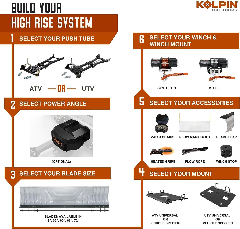 Kolpin 34-0000 UTV High Rise Push Tube