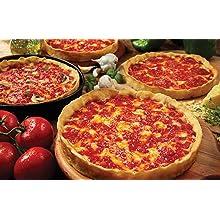4 Lou Malnati's Chicago-style Deep Dish Pizzas (2 Sausage & 2 Pepperoni)
