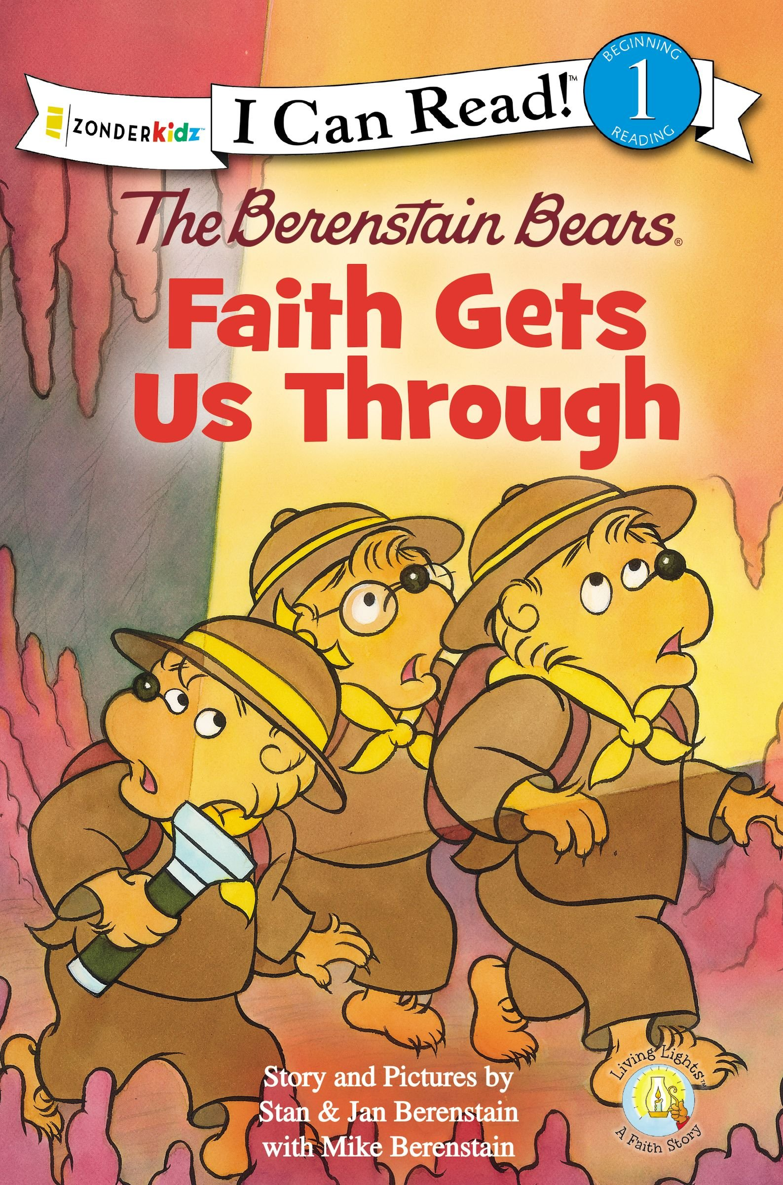 The Berenstain Bears, Faith Gets Us Through (I Can Read! / Good Deed Scouts / Living Lights) pdf epub