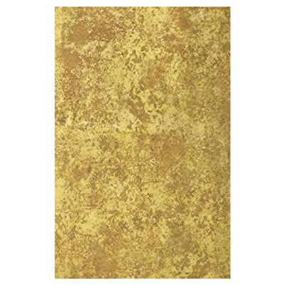 Gold Milano Marble Solid Color Print Heavy Gauge Vinyl Flannel Backed Tablecloth, Indoor/Outdoor Tablecloth for Picnic, Barbeque, Patio and Kitchen Dining, (60 Inch x 84 Inch Oblong/Rectangle) : Garden & Outdoor