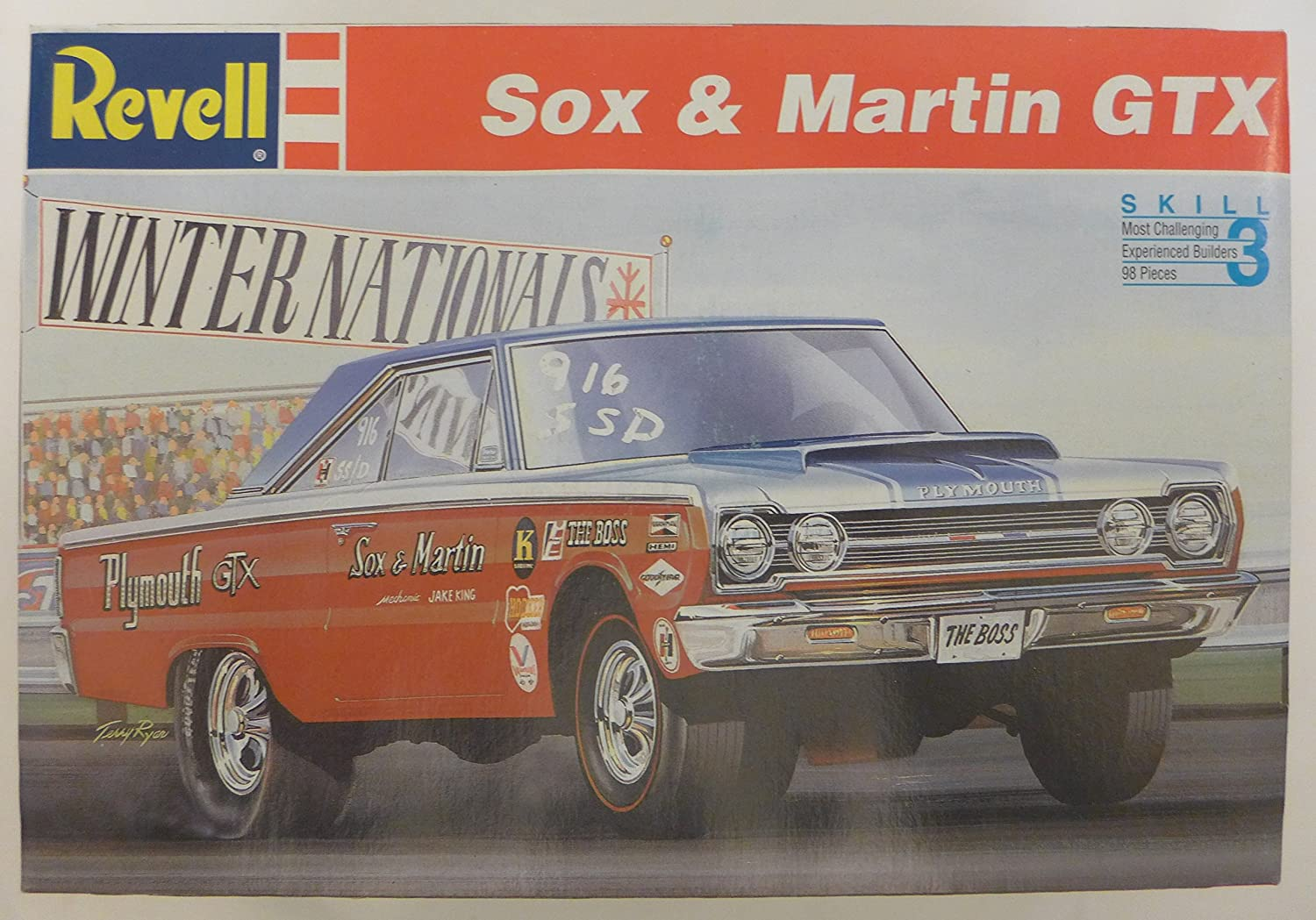 Buy Revell Sox Martin Gtx Model Car Kit Online At Low Prices In 1960 Plymouth Hemi India