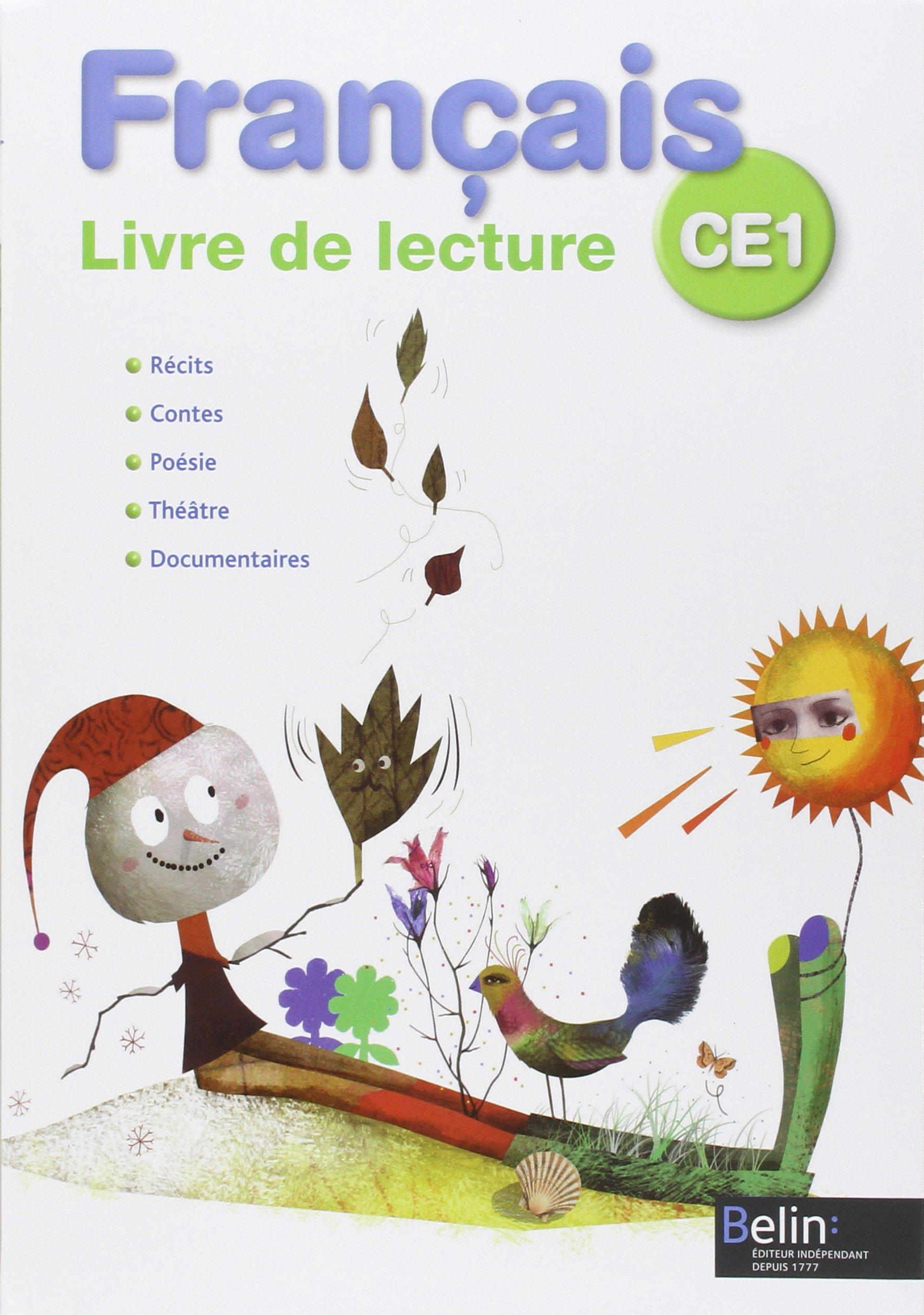 Francais Ce1 Livre De Lecture Michelle Sommer Jean