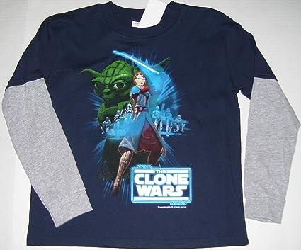 Disney Star Wars Yoda Boys t-shirt Green Tee Size 4 New With Tag