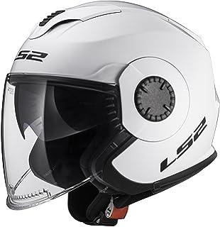 LS2 Helmets 570-1024 Verso Solid Unisex-Adult Open-Face-Helmet-